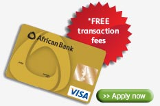 African Bank Visa Gold Card